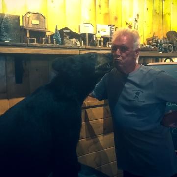 Ray with bear-2